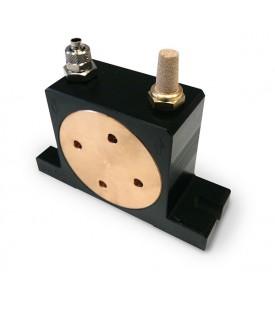 Vibrateur rotatif pneumatique à rouleau de taille de corps 3