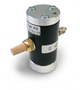 Vibrateur linéaire pneumatique à coussin d'air de taille de corps 2