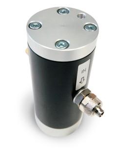 Vibrateur linéaire pneumatique à coussin d'air de taille de corps 4