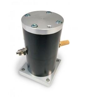 Vibrateur linéaire pneumatique à coussin d'air